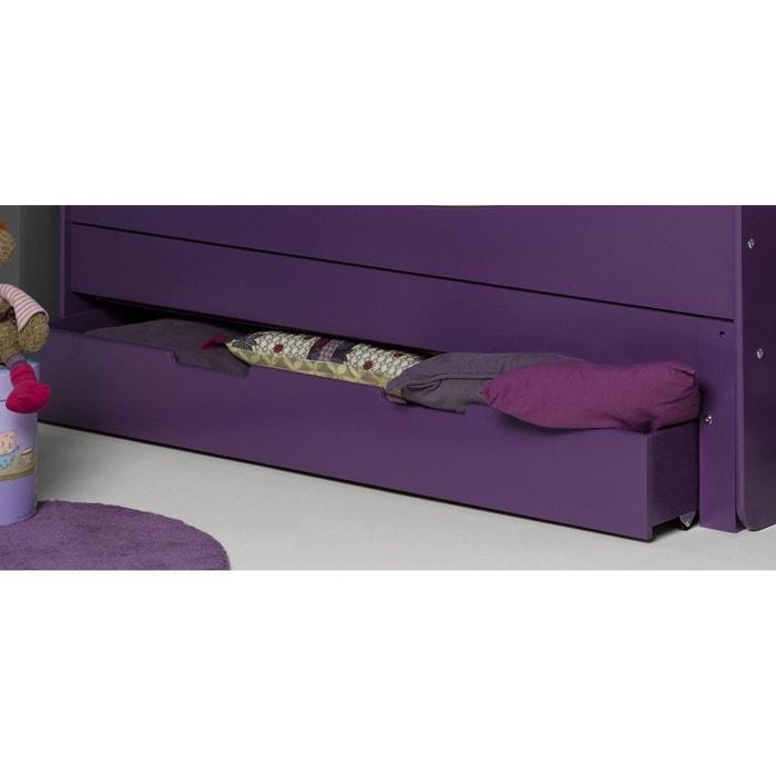 tiroir pour lit evolutif mauve 90x140 violet alfred et compagnie la redoute. Black Bedroom Furniture Sets. Home Design Ideas