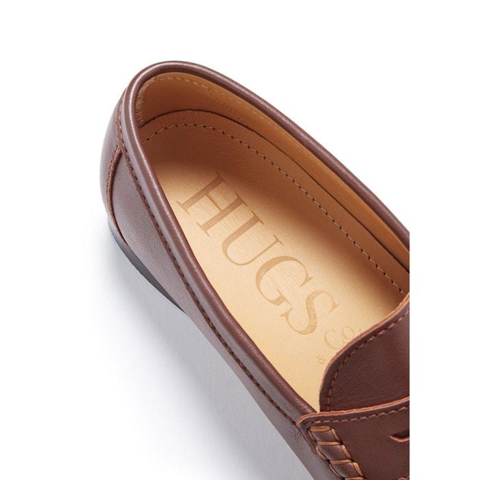 Mocassins penny cuir Hugs & Co