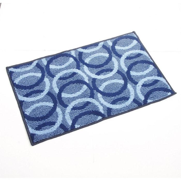 Tapis Cercle 80 X 50 Cm Bleu Bleu Clean House La Redoute