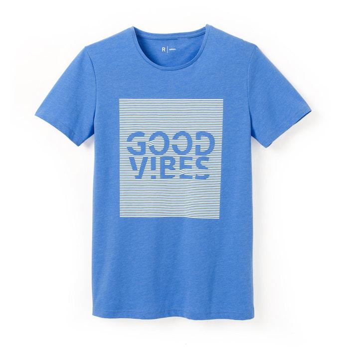 Imagen de Camiseta estampada con cuello redondo, 100% algodón R édition