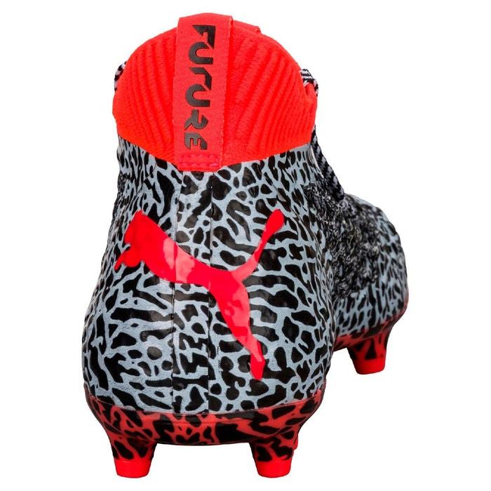 Chaussure de foot future netfit fg/ag pour homme white/black/red Puma
