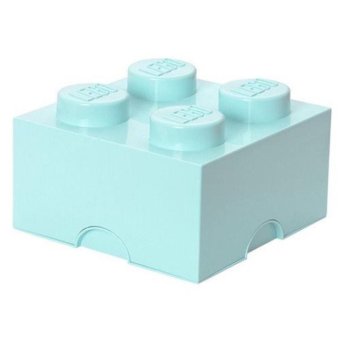 Bo te de rangement lego brick 4 bleu lego la redoute for Boite a couture la redoute