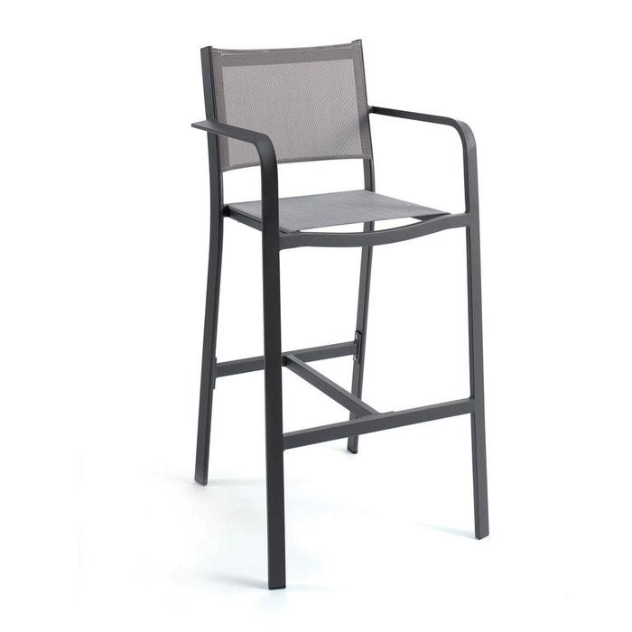 Et Haute Chaise Textilène Alu En Nassau yfgv67Yb