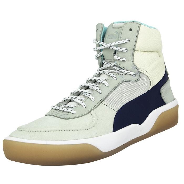 Puma mcq brace mid chaussures mode sneakers femme gris beige bleu  multicolore Puma  La Redoute