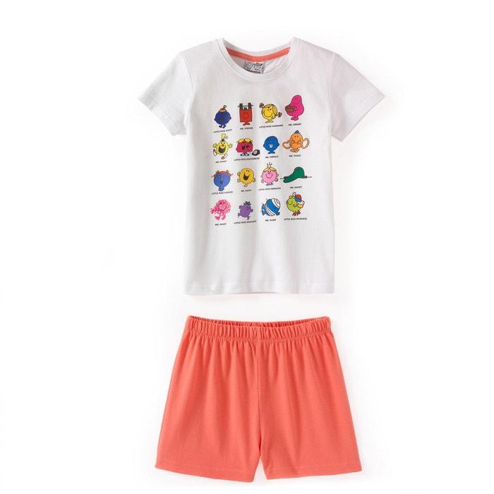 afbeelding Bedrukte pyjashort MR MME
