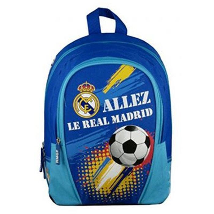 Prix De Gros Grande Remise En Ligne Sac à dos scolaire bleu Real Madrid   La Redoute 2018 Nouveau Rabais Wiki Livraison Gratuite ZECMC