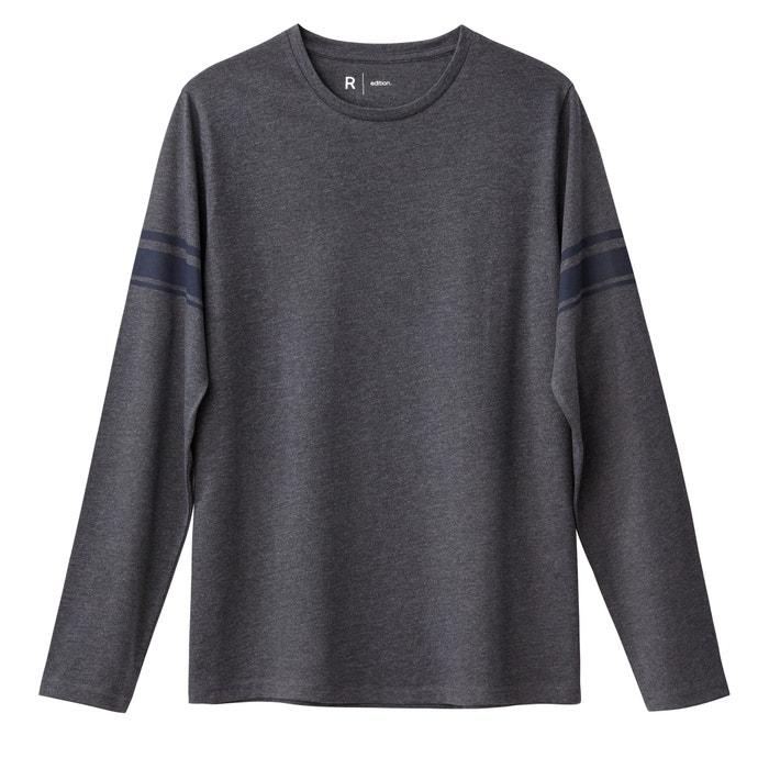 afbeelding Gestreept T-shirt met ronde hals La Redoute Collections