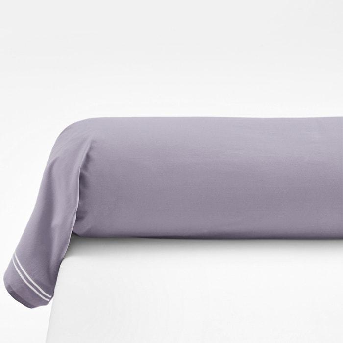 taie de traversin percale pur coton palace la redoute interieurs lavande la redoute. Black Bedroom Furniture Sets. Home Design Ideas