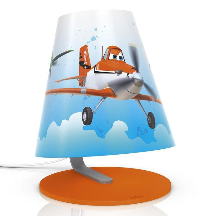 lampe de chevet planes disney philips orange planes la redoute. Black Bedroom Furniture Sets. Home Design Ideas