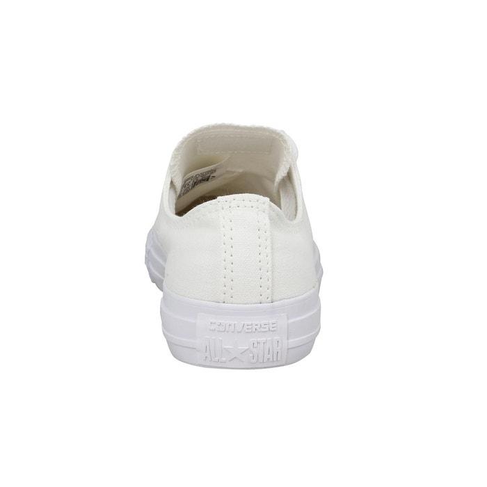 Baskets femme converse chuck taylor all star toile femme mono blanc mono blanc Converse