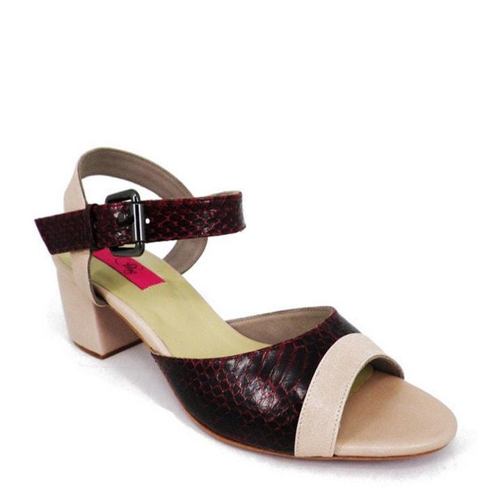 Chaussure femme en cuir mali Pring Paris