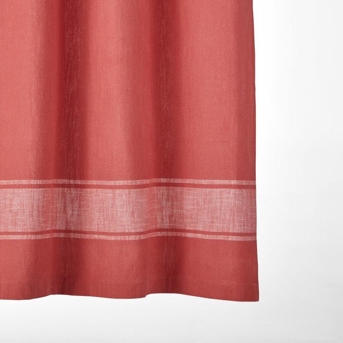 Zira Fouta-Style Curtain  La Redoute Interieurs image 0