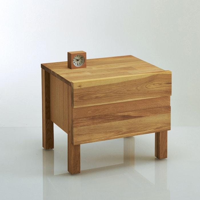 ARILES Solid Oak Bedside Table  La Redoute Interieurs image 0