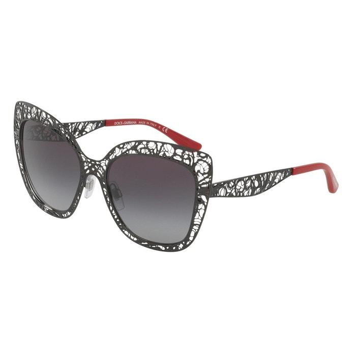 Lunettes de soleil dg2164 noir Dolce Gabbana   La Redoute Livraison Gratuite Prix Incroyable o8L3NE3