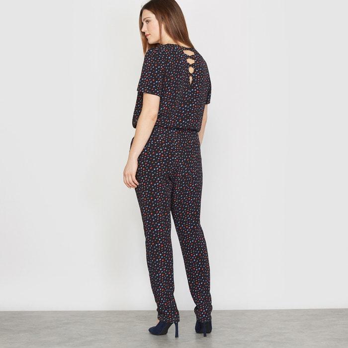 Image Combinaison pantalon imprimée CASTALUNA