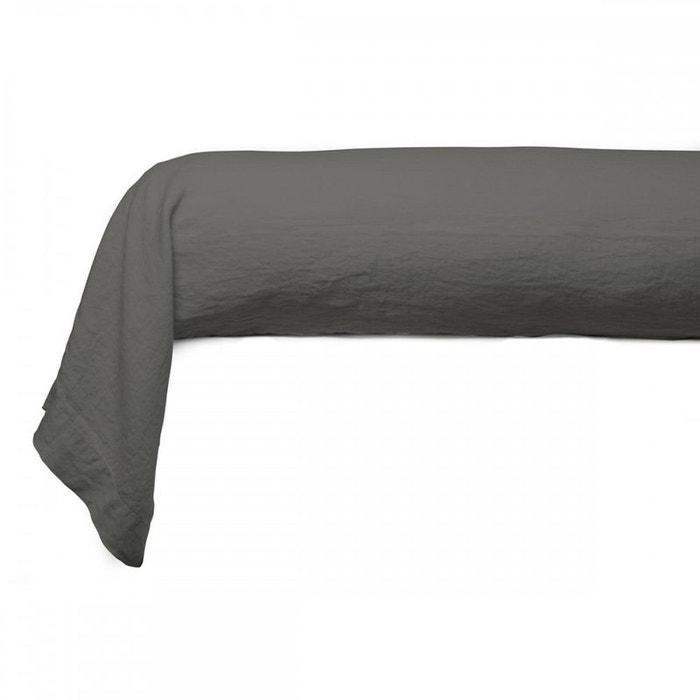 taie de traversin unie lin lav tradition des vosges la redoute. Black Bedroom Furniture Sets. Home Design Ideas