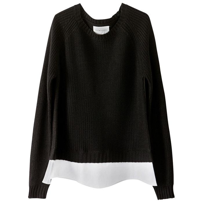 afbeelding Trui in fijn tricot met ronde hals SUD EXPRESS
