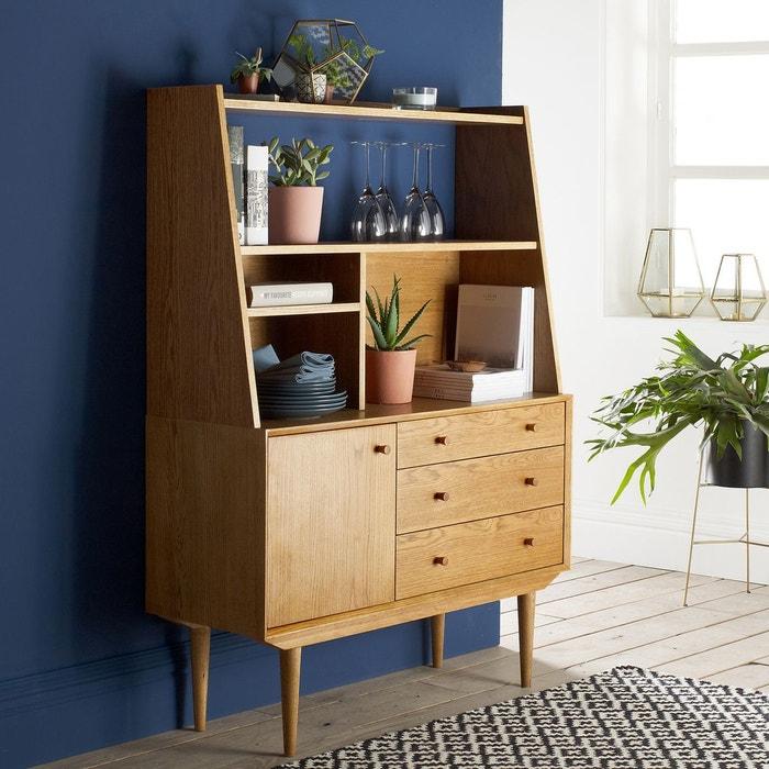 buffet vintage 1 porte 3 tiroirs quilda la redoute interieurs la redoute. Black Bedroom Furniture Sets. Home Design Ideas