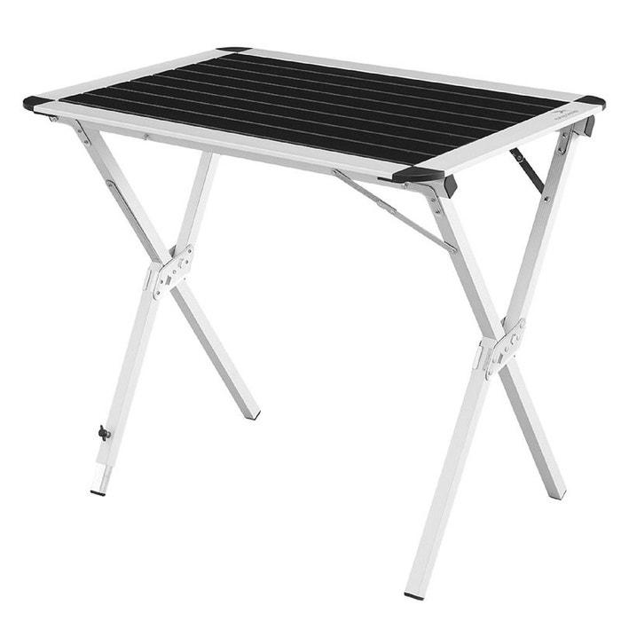 Rennes table pliante noir noir easy camp la redoute for La table d hippolyte rennes