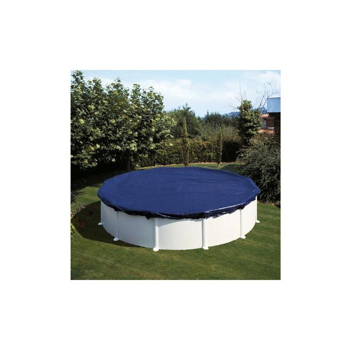 B che d 39 hivernage piscine gr ronde 3 50 m couleur for Piscine bois la redoute