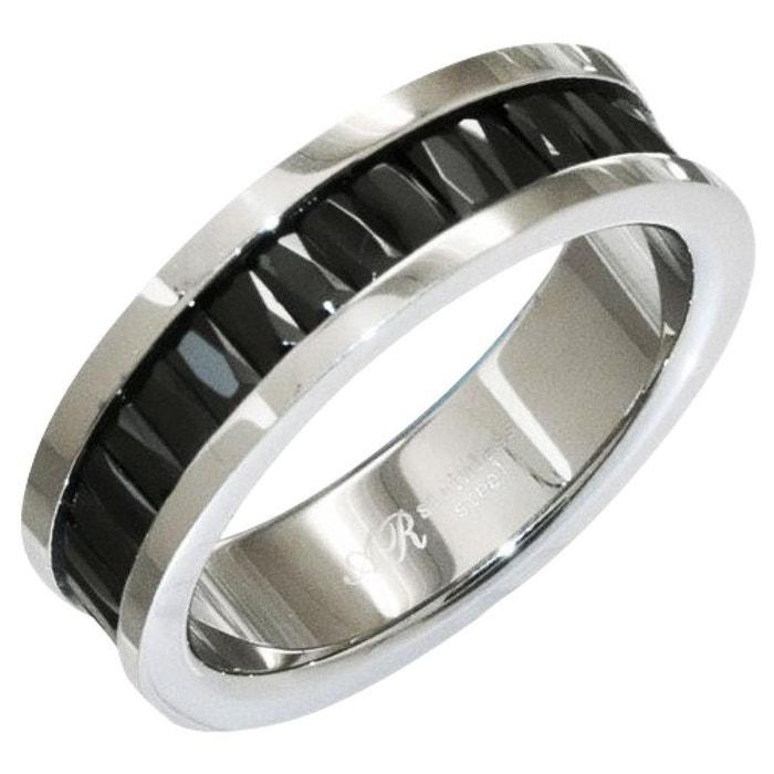 Bague alliance anneau noir oxyde de zirconium noir acier inoxydable couleur unique So Chic Bijoux | La Redoute Pas Cher Large Gamme De Jeu Combien Pas Cher 2018 Unisexe 3LZs0
