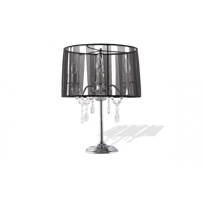 lampe de chevet abat jour design noir couleur unique kokoon design la redoute. Black Bedroom Furniture Sets. Home Design Ideas