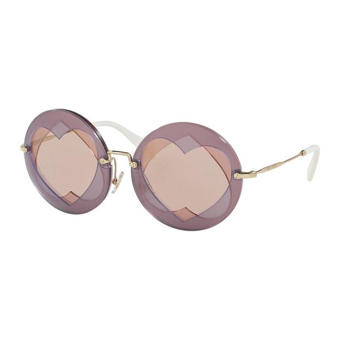Lunettes de soleil mu 01ss violet Miu Miu | La Redoute réductions Jeu À La Mode Prix Pas Cher Exclusif qMUog2m