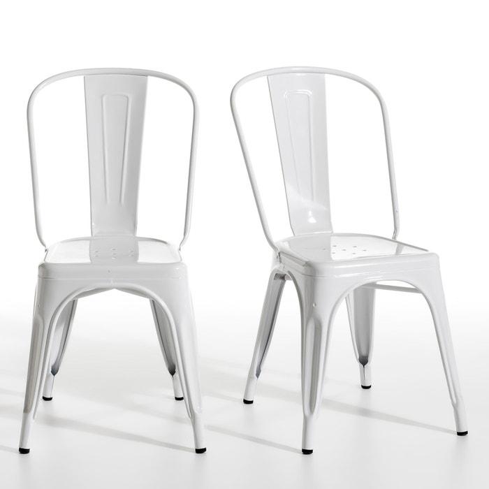 Image Set of 2 Tolix Chairs AM.PM.