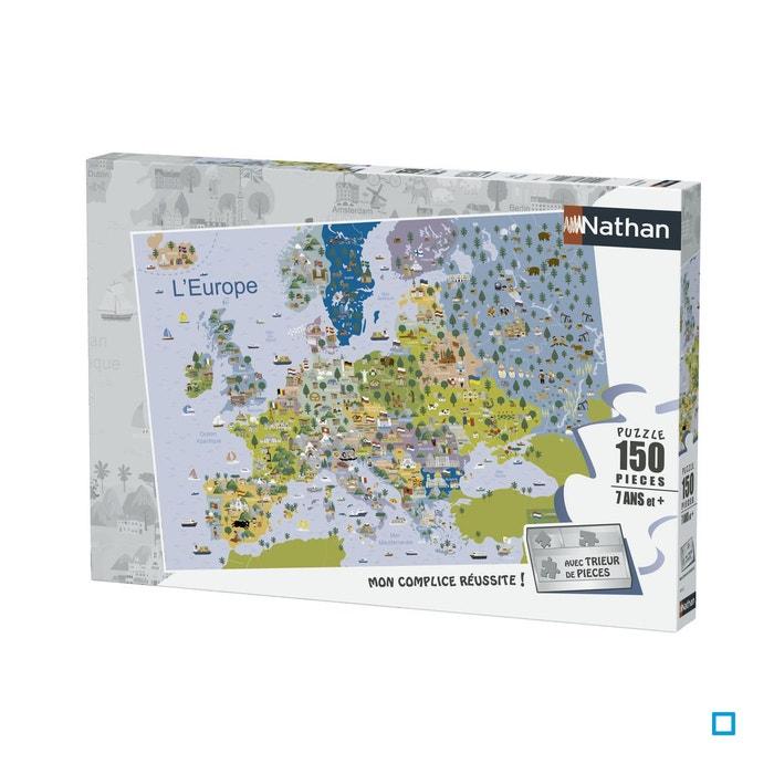 Carte De Leurope Jeux Educatifs.Puzzle 150 P Carte D Europe Rav4005556868353 Nathan La Redoute