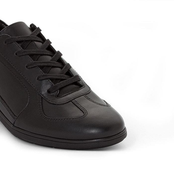 Baskets cuir leonzio noir Mephisto
