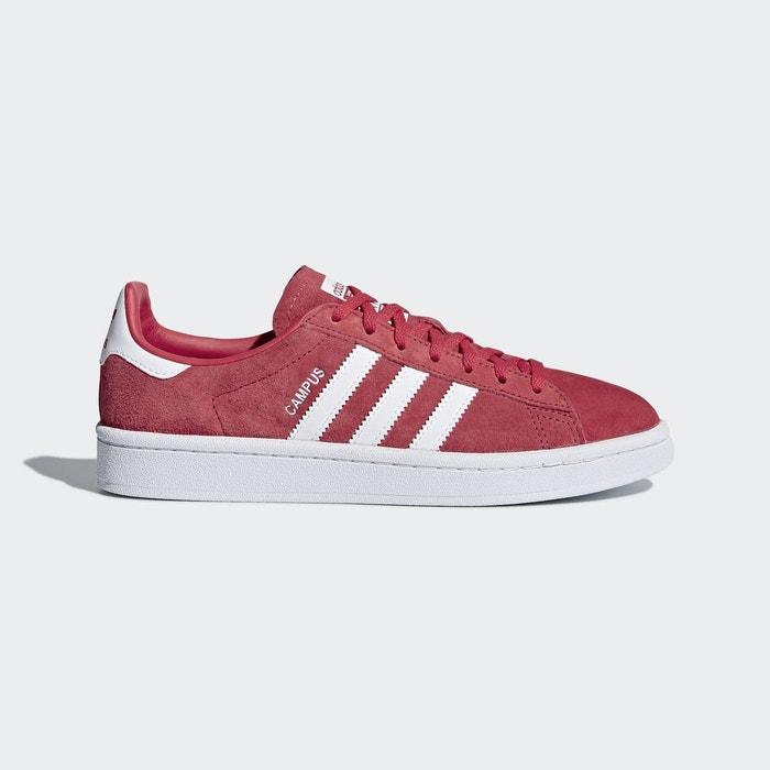 Chaussure campus  rouge Adidas Originals  La Redoute