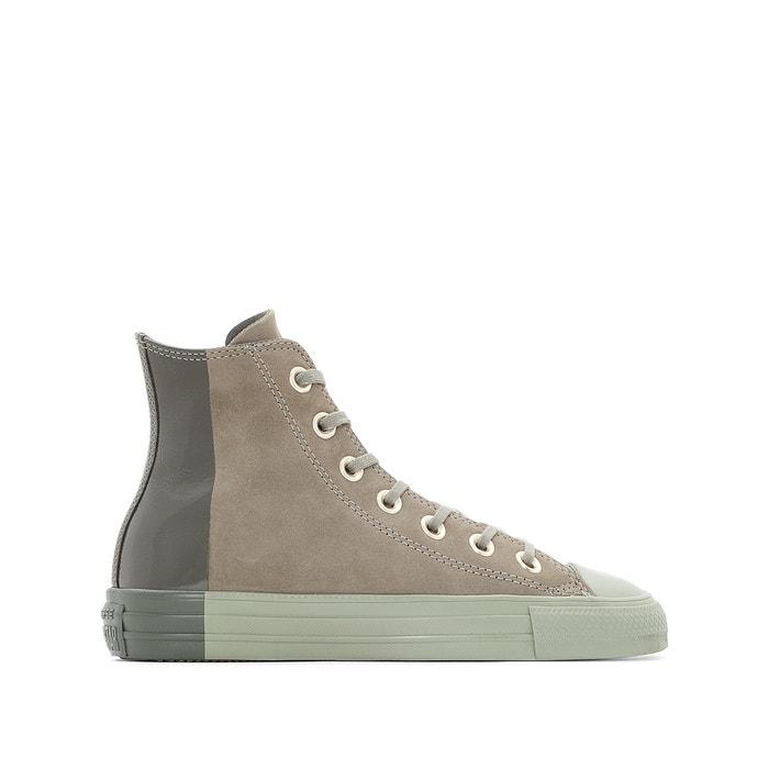 3921bc9bc8ce Hohe sneakers ctas hi blocked nubuck grau Converse   La Redoute