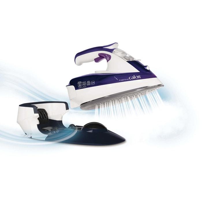 Fer repasser fv9963co sans fil bleu calor la redoute - Repasser une chemise sans fer ...