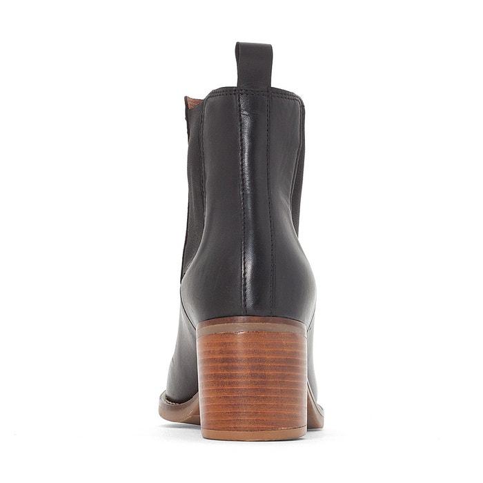 Chelsea cuir talon moyen - La Redoute Collections - NoirLa Redoute Collections p1oSN9