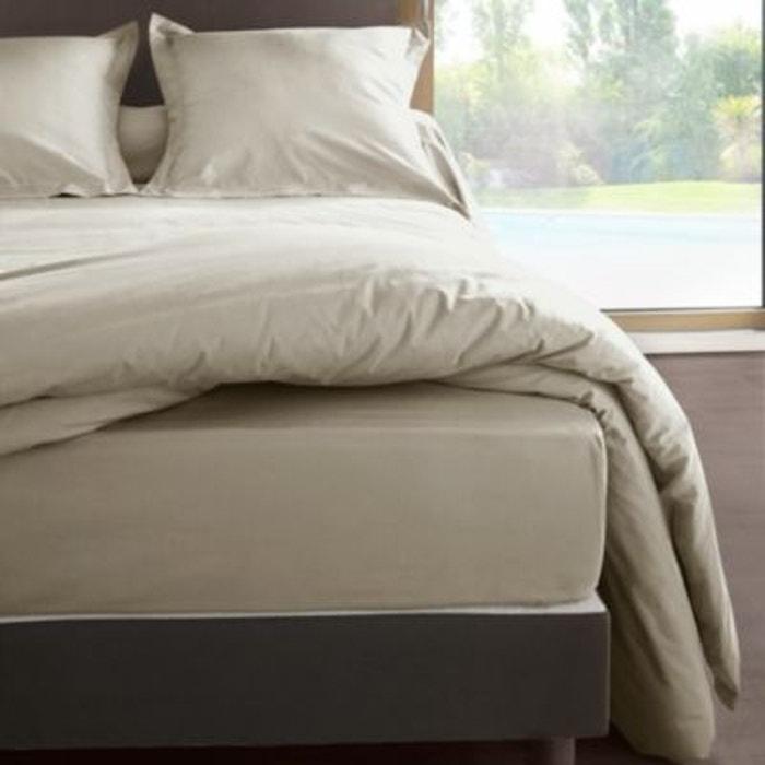 drap housse percale m line 2 matelas tr s pais labelissim la redoute. Black Bedroom Furniture Sets. Home Design Ideas