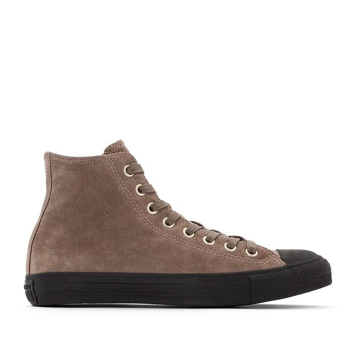 d0715fc8 Zapatillas de caña alta ctas hi suede marrón Converse | La Redoute