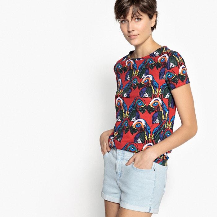 Parrot Print T-Shirt  La Redoute Collections image 0