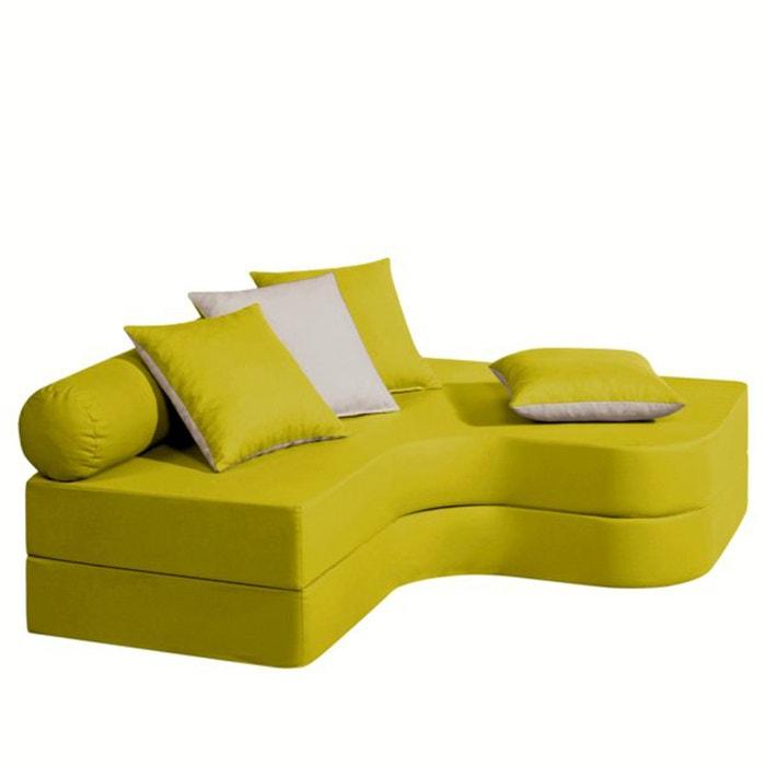 banquette lit d 39 angle confort bultex meeting la redoute interieurs la redoute. Black Bedroom Furniture Sets. Home Design Ideas