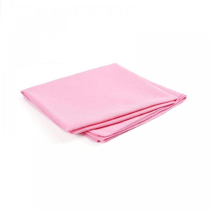 Bandana coton rose uni rose Allee Du Foulard   La Redoute 5eefd6174fc