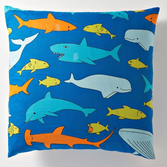 afbeelding Kussensloop voor kinderen, FISH GANG La Redoute Interieurs