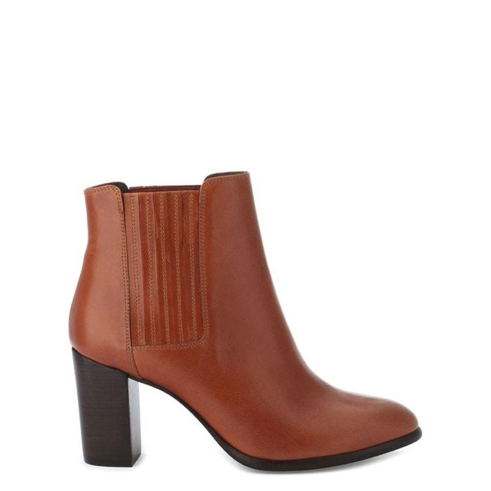 Boots cuir elane   cognac Cosmoparis   La Redoute