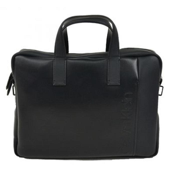 b6885e1226 Sac ordinateur noir Calvin Klein Jeans | La Redoute