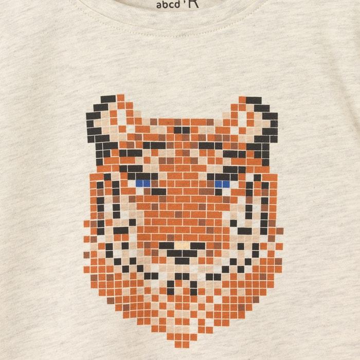 """Image Shirt, lange Ärmel, Aufdruck """"Tiger"""", 3-12 Jahre La Redoute Collections"""