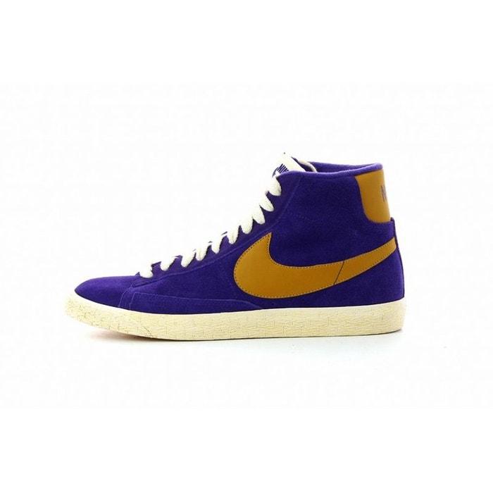 Parfait Prix Pas Cher Basket blazer mid suede vintage violet Nike Sites À Vendre C1LojsSg0M