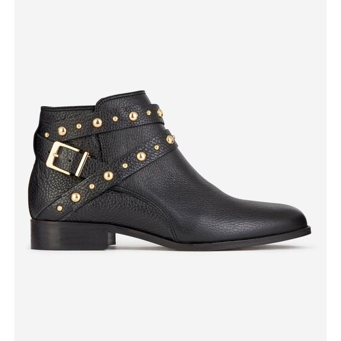 Boots Pimprenelle Studs Cuir
