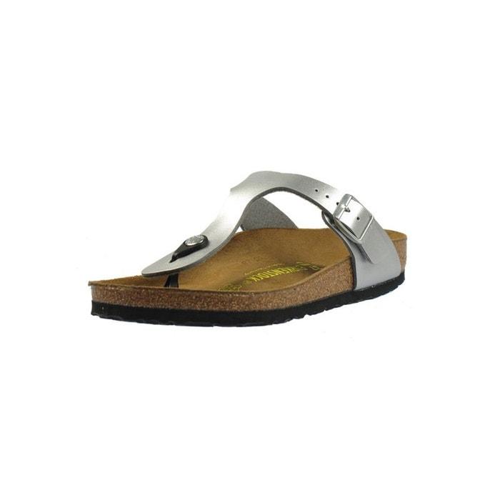 Sandales gizeh  argenté Birkenstock  La Redoute