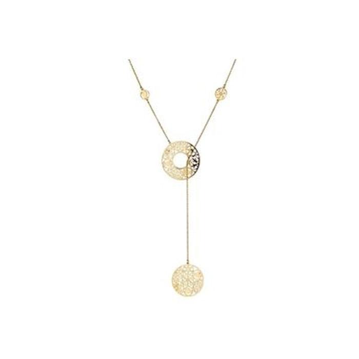 Collier cravate vintage en or jaune 9 carats, 3.8g or Clio Blue | La Redoute