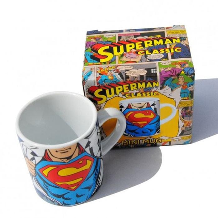 Tasse à Expresso Superman Costume - KAS DESIGN dc545ddfa3c