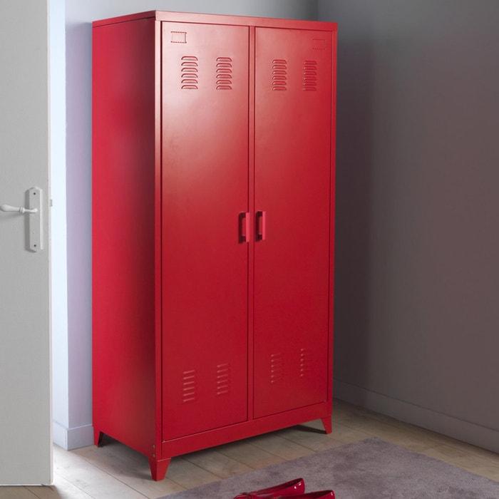 Hiba 2-Door Metal Locker Cabinet  La Redoute Interieurs image 0