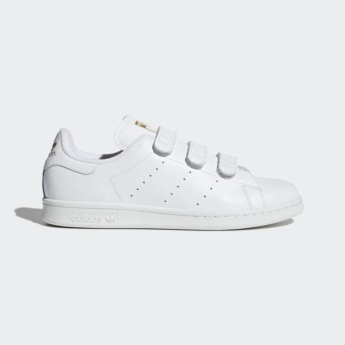 ... Baskets à scratch stan smith blanc Adidas ...